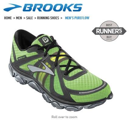 Brooks PureFlow ได้รางวัล Best Buy จาก Runner's World ด้วย